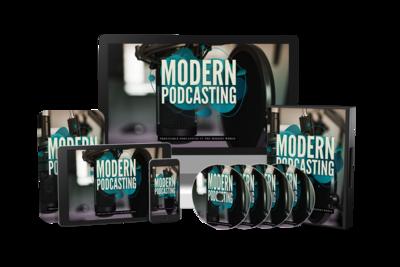 Modern Podcasting eBook & Video Course Bundle (w/Bonus MP3)