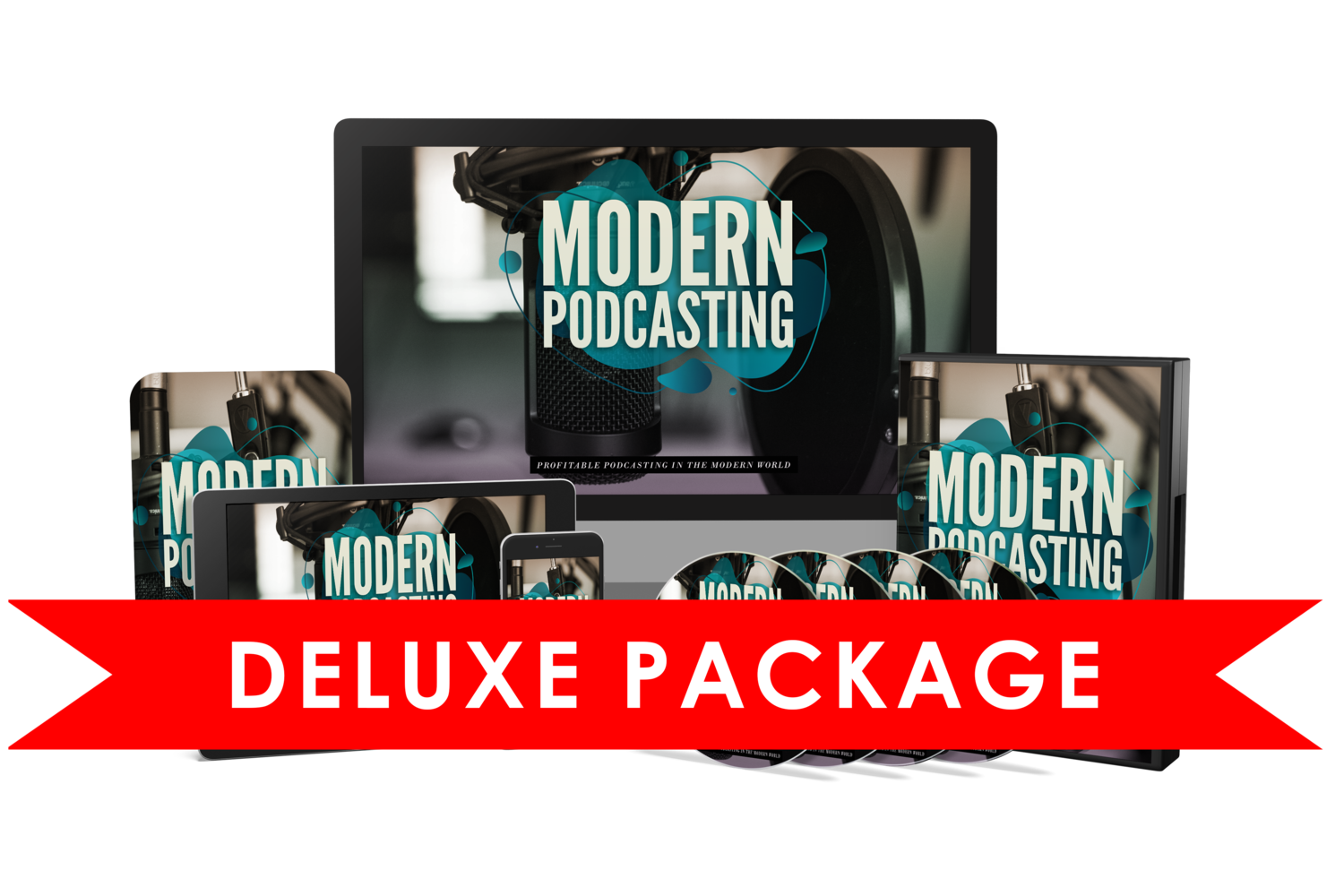 Modern Podcasting eBook & Video Course w/Resell Rights