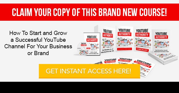 YouTube Authority Video Course (Only)
