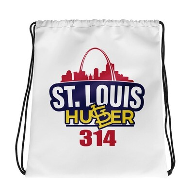 St. Louis Hustler 314 Drawstring bag