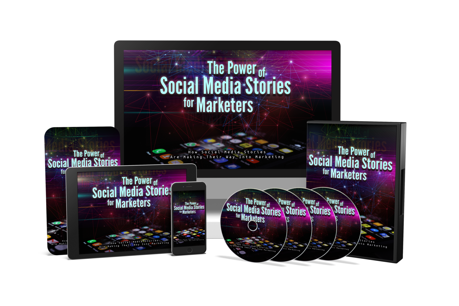 The Power Of Social Media Stories eBook & Video Course