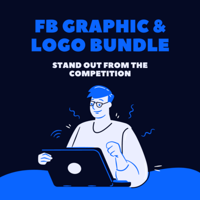 Custom Facebook Graphics & Logo Bundle