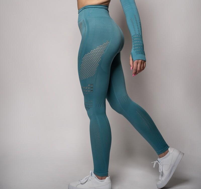 CALM |  Turquoise Leggings