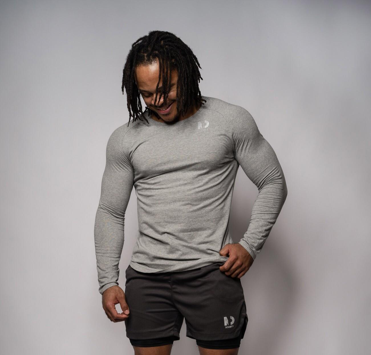 MINDSET | Grey Long Sleeve T-Shirt