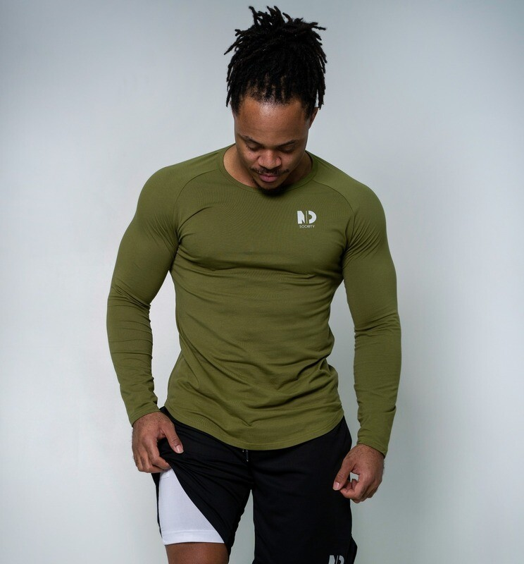 MINDSET | Green Long Sleeve T-Shirt