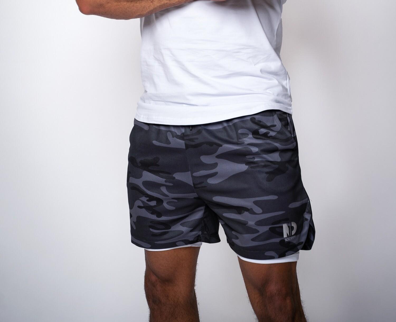 """DUAL   Camo 5"""" Shorts"""