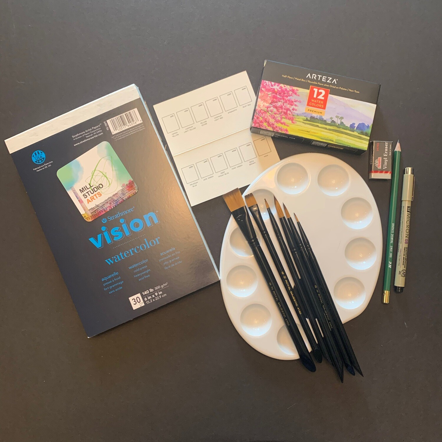 Everything you need watercolor kit