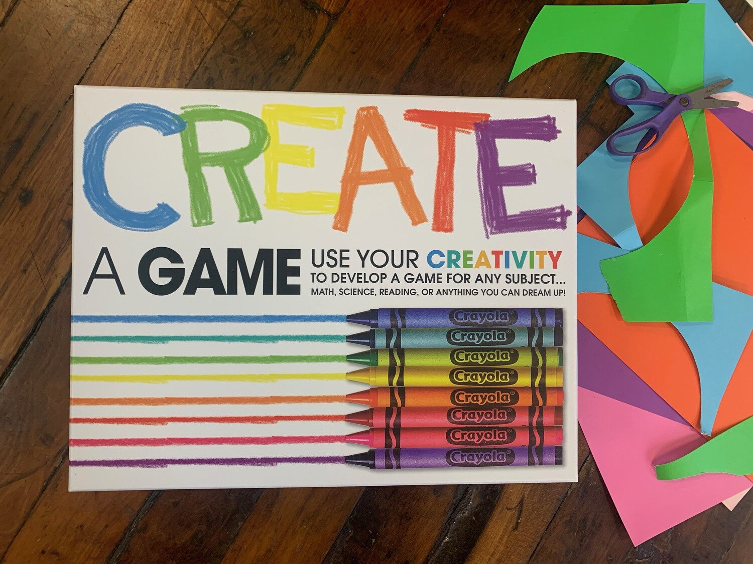 Create a game kit: includes supplies to make 4 games!