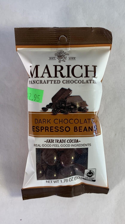 espresso beans, dark; 1.76oz