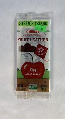 fruit leather, cherry; each; Stretch Island