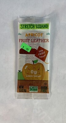 fruit leather, apricot; each; Stretch Island