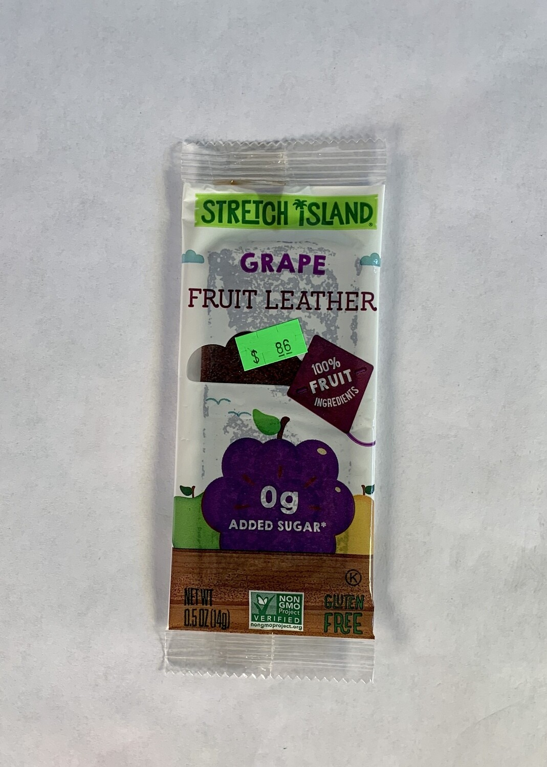 fruit leather, grape; each; Stretch Island