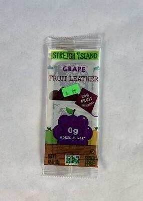 fruit leather, grape; each; Stretch Island