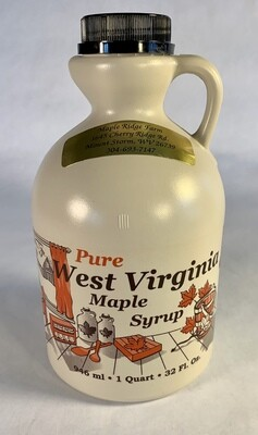 syrup, maple, quart; each; Maple Ridge Farm