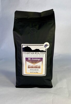 coffee, Mt Evenings decaf, 12 ounce; each; Mountain Roasters