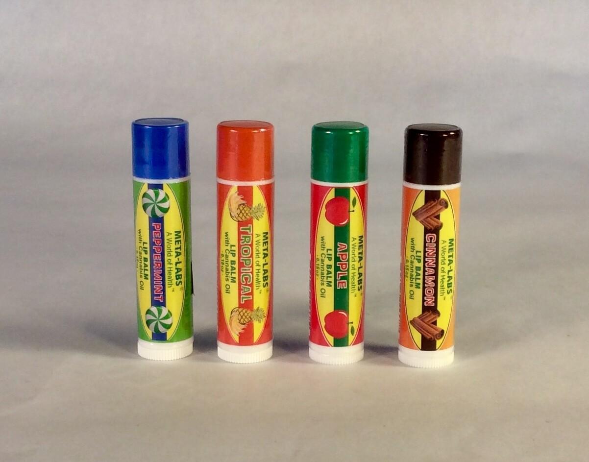 cbd, lip blam, cannabis, peppermint; 15 ml; Meta-Labs