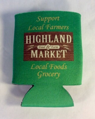coozie; each; Highland Market