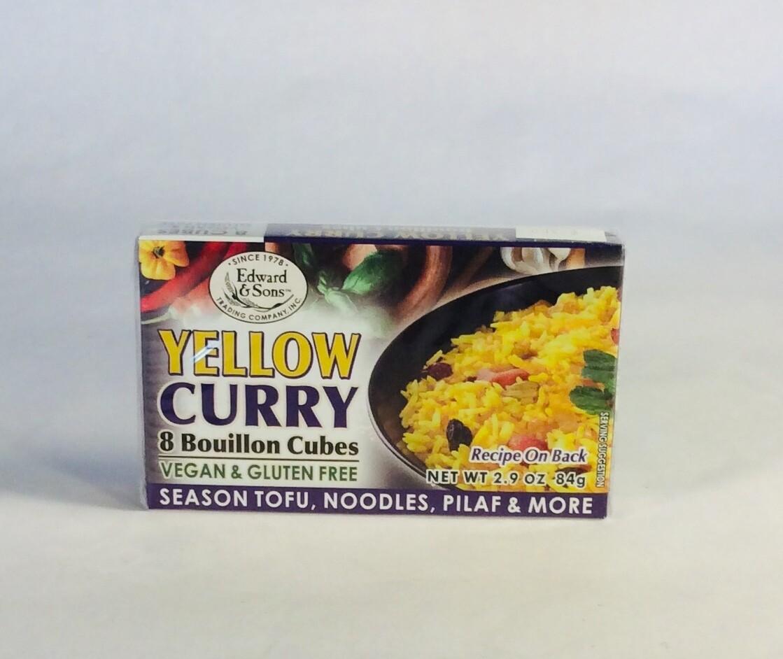 bouillon, yellow curry, 2.9 ounce; each