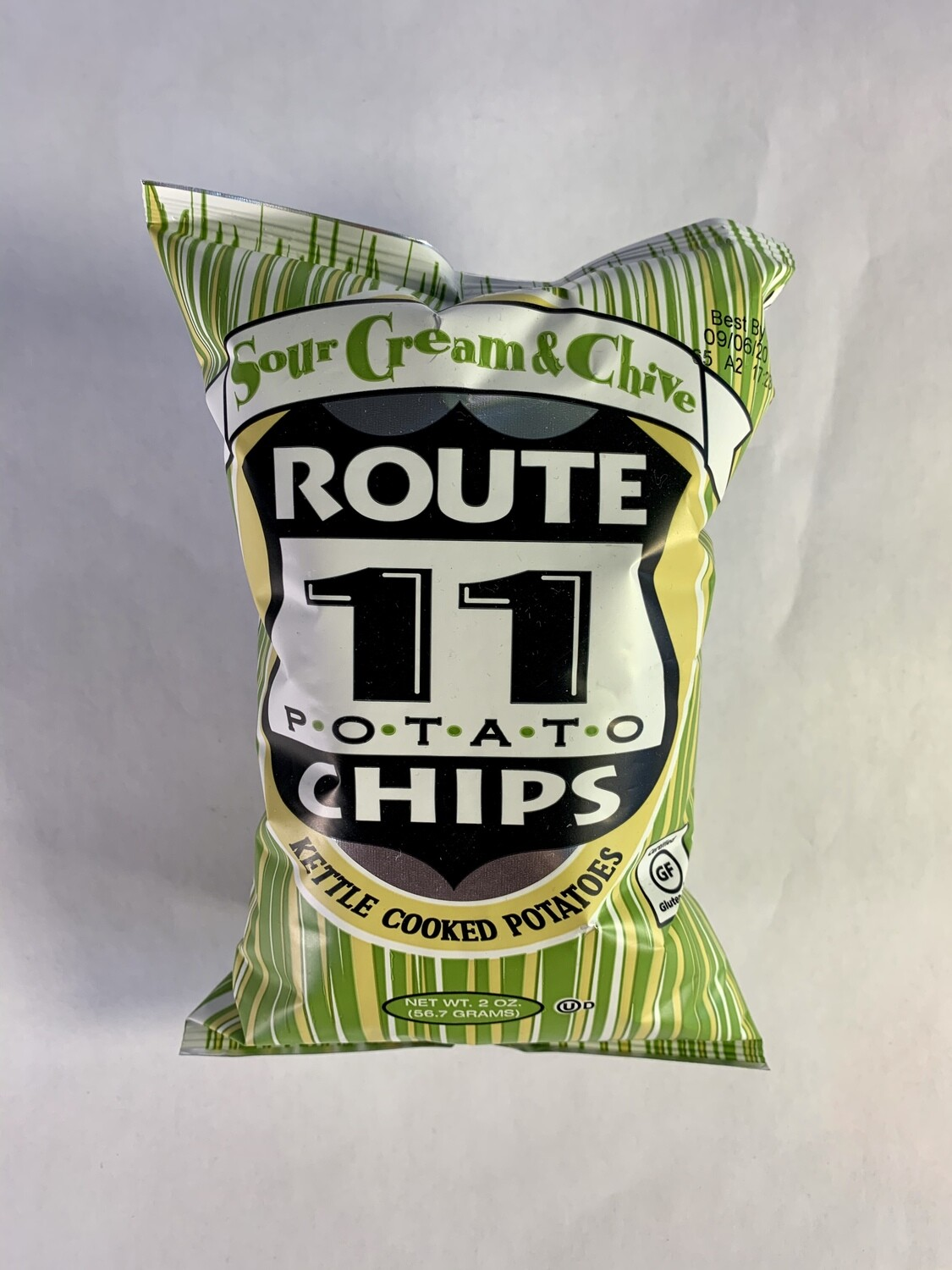chips, sour cream and chive; 2oz; Rout 11