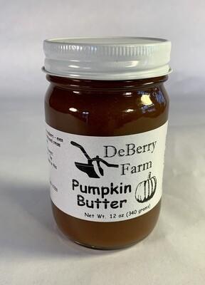 pumpkin butter; each; DeBerry Farm