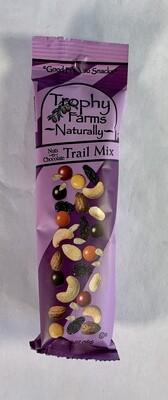 trail mix, nuts & chocolate, 2 oz; each; Trophy Farms