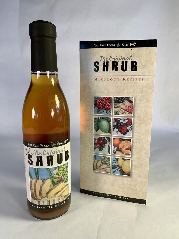 shrub, ginger; each; Taits