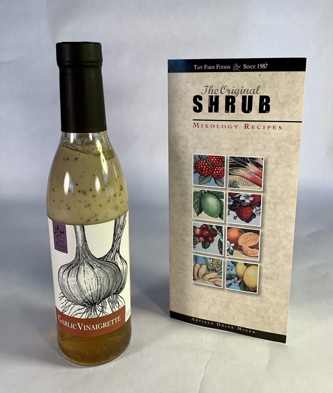 dressing, garlic vinaigrette; each; Tait Farm Foods