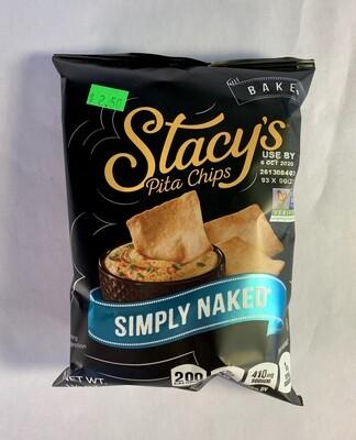 pita chips, simply naked, 1.1 oz; each; Stacy's Pita Chips