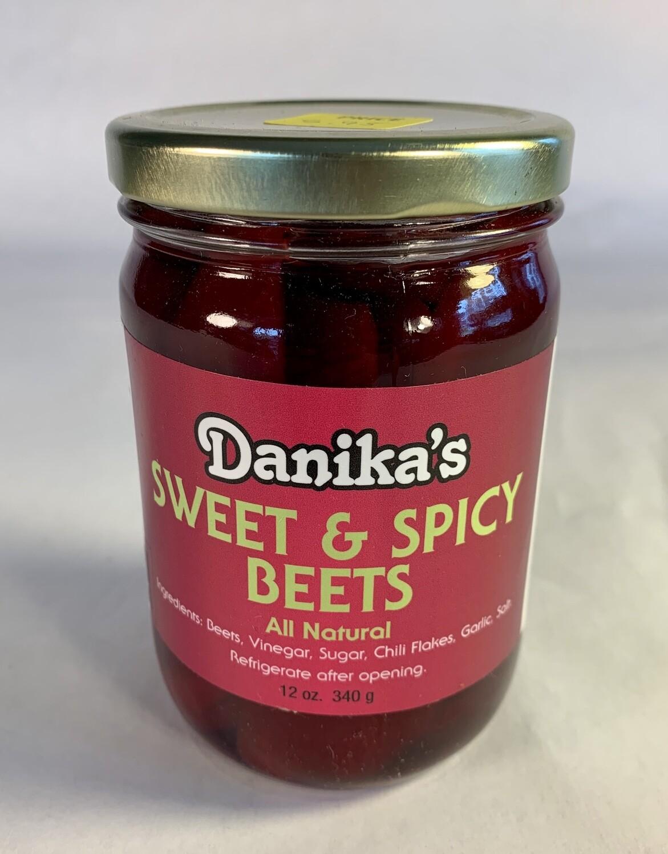 beets, sweet & spicy; each; Danika's