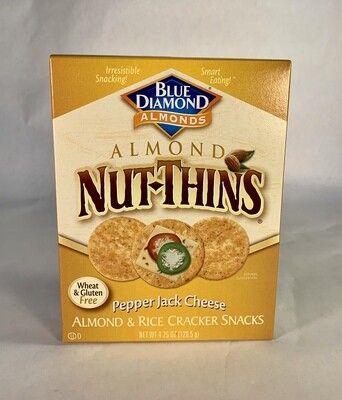 crackers, pepper jack; each; Nut Thins