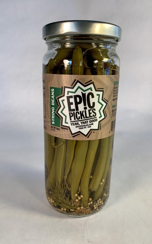 string beans, pickled; each; Epic
