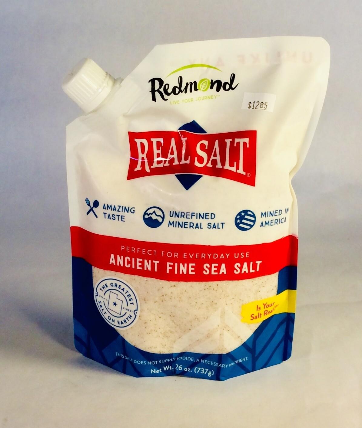 real salt; 26 ounce; Frankferd Farms