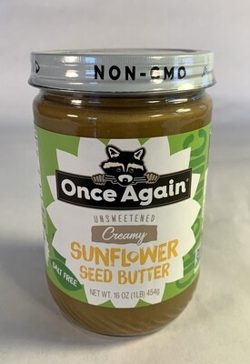 sunflower butter, organic; each