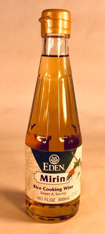vinegar, rice wine, mirin; each; Eden