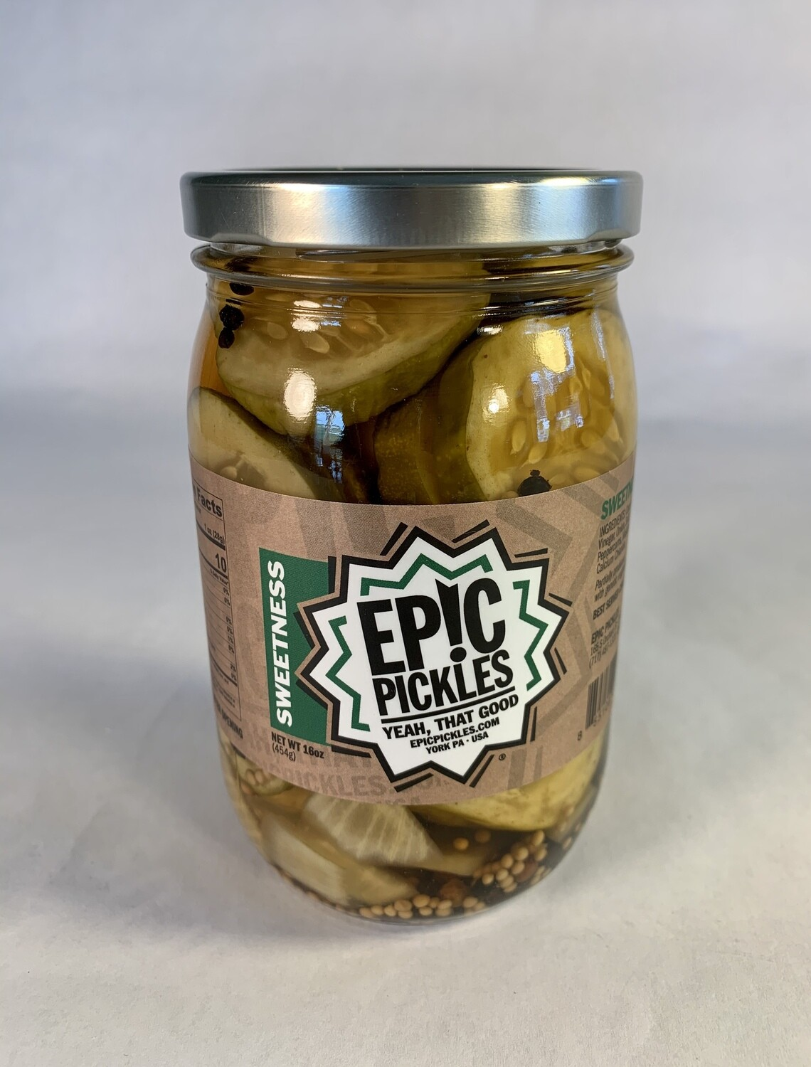 pickles, sweetness dill; each; Epic