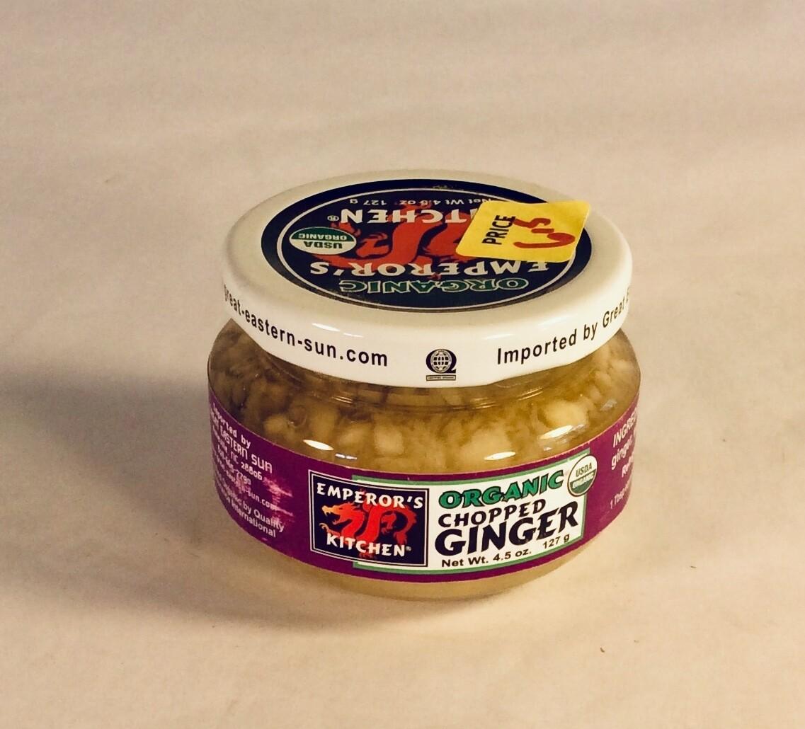 ginger, chopped, 4.5 ounce; each; Great Eastern Sun