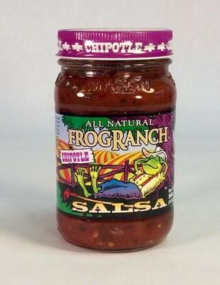 salsa, chipotle, 16 ounce; each; Frog Ranch