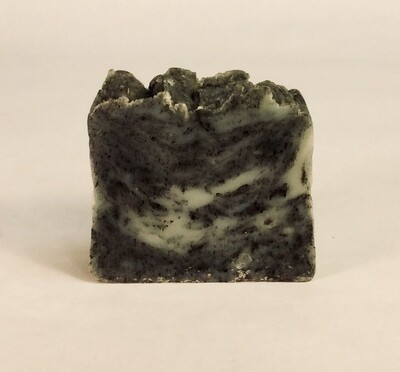 soap, bar, charcoal; 4 ounce; Kreative Artz