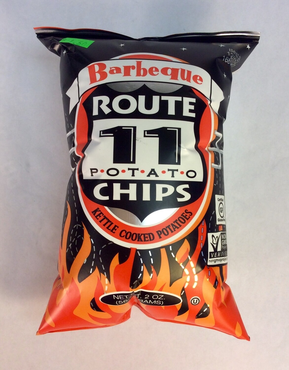 chips, barbeque; 2oz; Route 11