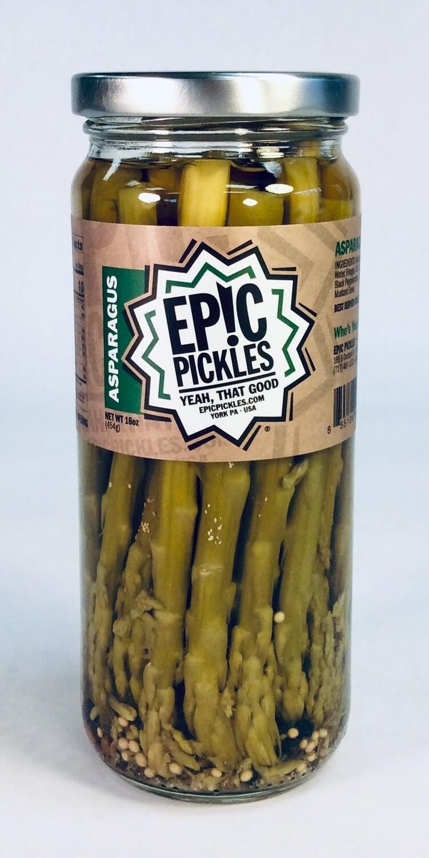 asparagus, pickled; each; Epic
