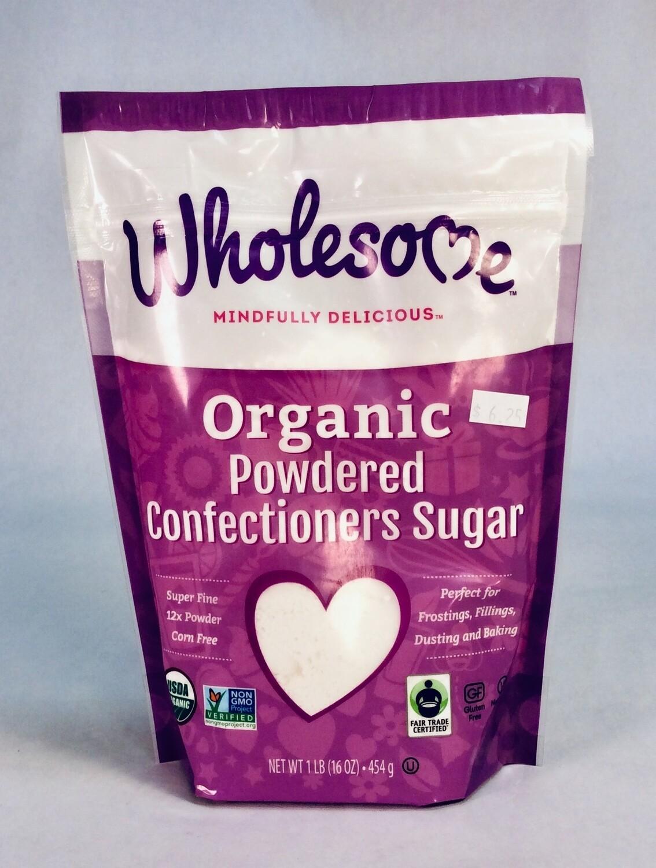 sugar, powdered, organic