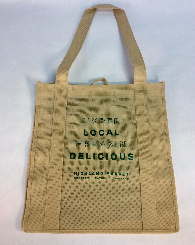 bag, shopping; each; Highland Market