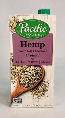 milk, hemp, original; 32oz; Pacific Foods