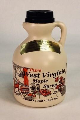 syrup, maple, pint; each: Maple Ridge Farm