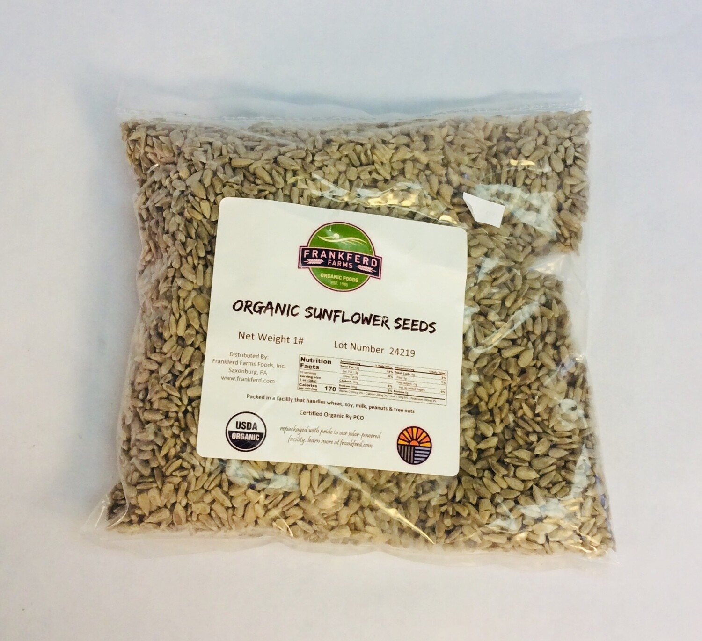 sunflower seeds, organic; 1 pound