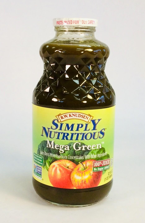 juice, Mega Green, 32 ounce; each