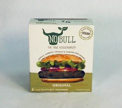 burger, original, gluten-free, vegan; each; No Bull