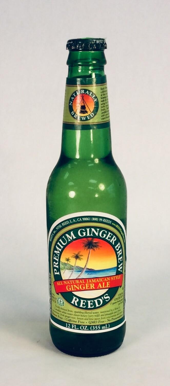 soda, ginger brew; each; Reeds