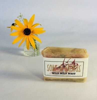 soap, bar, all-natural, handmade, Wild Wild West; Soap-A-Saurus; each