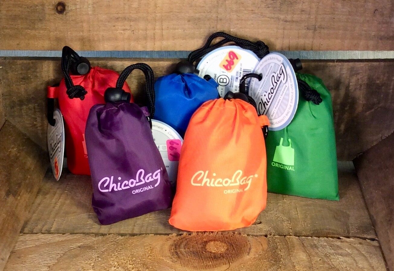 bag, chico, orange: each; Chico Bag